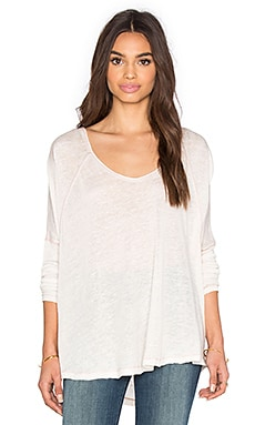 Free People Macchiato Top in Dusty Peach