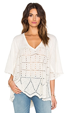 Free People Summer Lovin Top in Cream