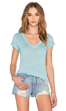 Free People Pearl's Top in Icy Blue