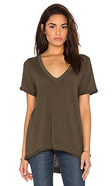 Free People Pearl's Top in Army