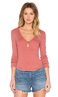 Free People Tate's Layering Top in Earth