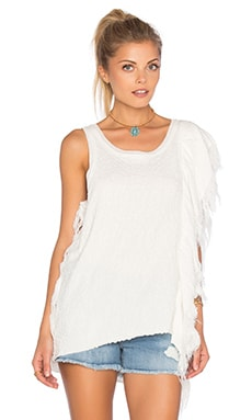 Treat Me Tender Top in Ivory