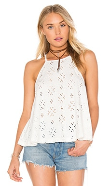 Dream Date Top en Ivory
