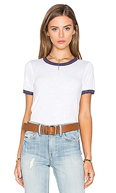 Free People Brixton Tee in Ivory