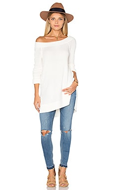 Free People Kate Thermal Top in Ivory