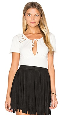 Free People Blast From the Past Top in Ivory