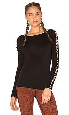 Free People Rama Layering Top in Black