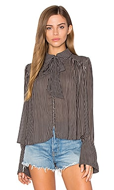 Free People Modern Muse Top in Black