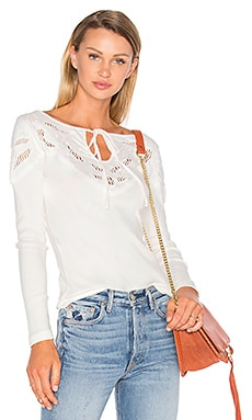 Free People With Love Tee in Ivory