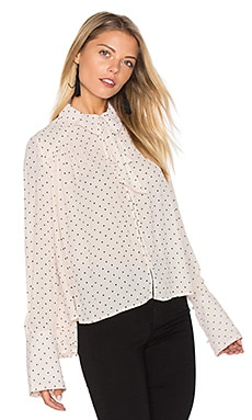 Kennedy Blouse in Ivory