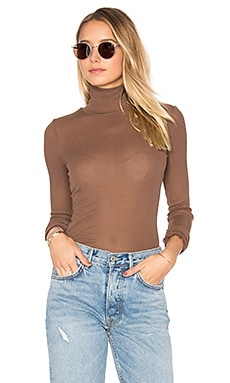 Modern Cuff Layering Top in Chocolate