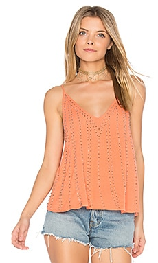 BB Embellished Cami in Coral