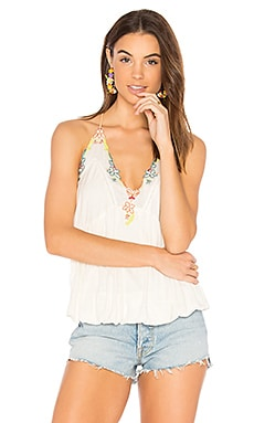Island Time Top in Ivory