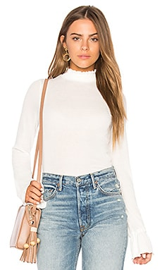 Out of Sight Mock Neck Top