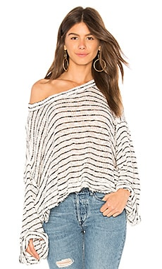 Striped Island Girl Hacci Top