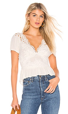 Sweet Roses Blouse Free People $108