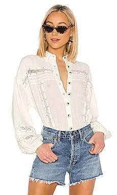 Summer Stars Buttondown Free People $44 (FINAL SALE)