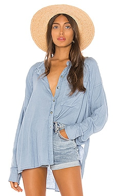 Keep It Simple Button Down Free People $108 NEW ARRIVAL