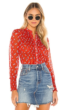 Flowers In December Blouse Free People $98 NEW ARRIVAL