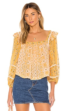 BLUSA MOSTLY MEADOW Free People $98 NOVEDADES