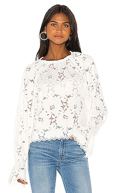 T-SHIRT OLIVIA LACE Free People $98 BEST SELLER