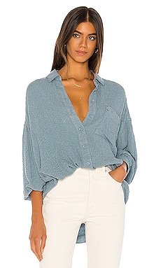 Solid Hidden Valley Buttondown Free People $98 BEST SELLER