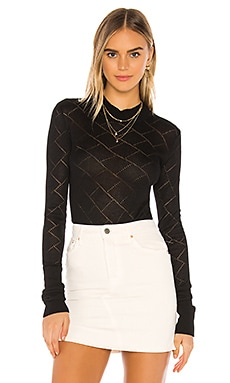 What's The Pointelle Bodysuit Free People $58