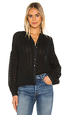 Maddison Eyelet Blouse Free People $118