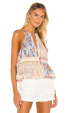 Bellini Patchwork Tank Free People $78 NEW ARRIVAL