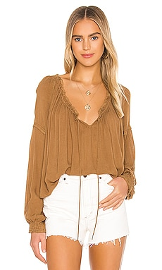 Banda Blouse Free People $98 BEST SELLER