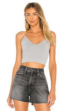 Ribbed V Neck Brami Tank Free People $20