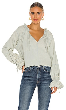 TOP DENIM ALPINE Free People $128