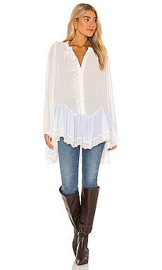Jeanette Tunic Top Free People $128 BEST SELLER