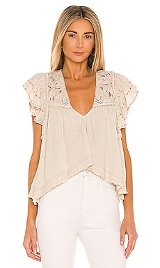 Hailey Embroidered Top Free People $118 NUEVO
