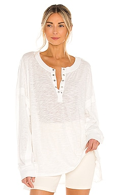 X FP Movement One Up Long Sleeve Top Free People $68 NEW