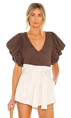 Can't Get Enough Wrap Top Free People $88 BEST SELLER