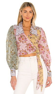 Lucky Penny Wrap Top Free People $128