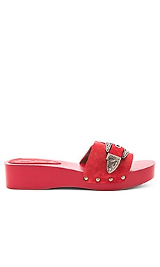 Westtown Slide Clog in Red