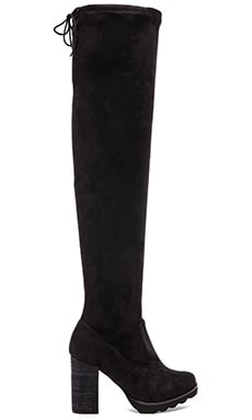 Free People North Star Tall Boot in Black