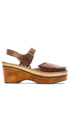 Free People Magnolia Slope Clog in Tan