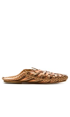 Free People San Marco Huarache Sandal in Natural