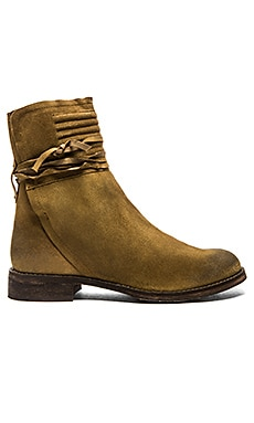 Free People Cambridge Wrap Boot in Tan
