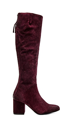Free People New Castle Tall Boot in Berry