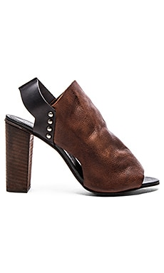 Picture This Heel in Brown Combo