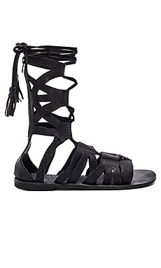 Free People Mesa Verde Gladiator Sandal in Black