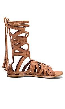 Mesa Verde Gladiator Sandal in Tan