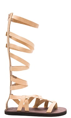 Free People Cynder Gladiator Sandal in Vachetta
