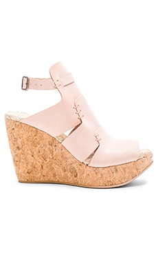 Free People Vachetta Rose Wedge in Vachetta