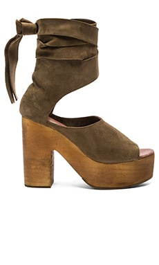 Free People Touch the Sky Clog in Taupe