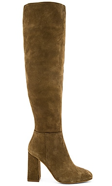 Free People Liberty Heel Boots in Taupe